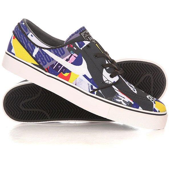 Кеды кроссовки низкие Nike Zoom Stefan Janoski Cnvs Black/White