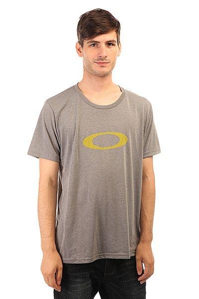 Футболка Oakley Spirit Tee Stone Gray<br><br>Цвет: серый<br>Тип: Футболка<br>Возраст: Взрослый<br>Пол: Мужской