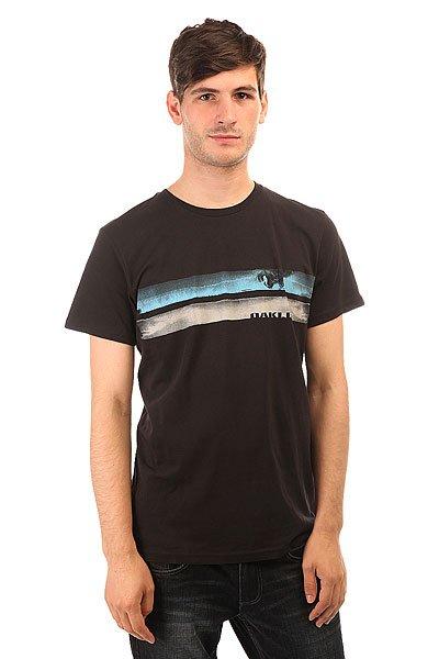 Футболка Oakley Painted Stripe Jet Black<br><br>Цвет: черный<br>Тип: Футболка<br>Возраст: Взрослый<br>Пол: Мужской