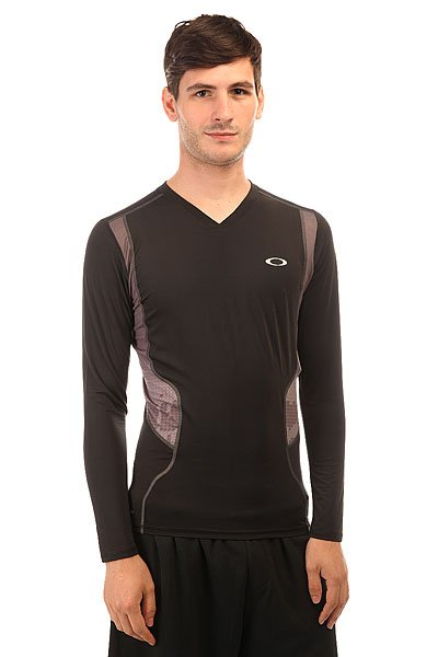 Термобелье (верх) Oakley Compression Ls Top Jet Black