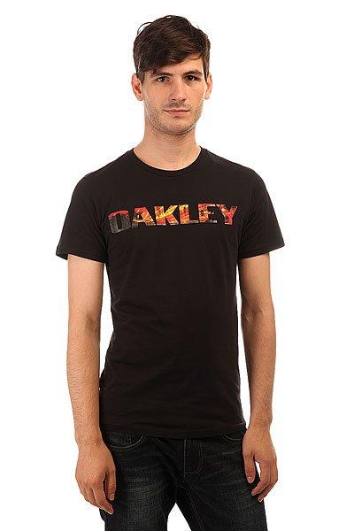 �������� Oakley Boardwalk View Tee Jet Black