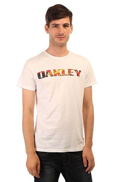 Футболка Oakley Boardwalk View Tee White
