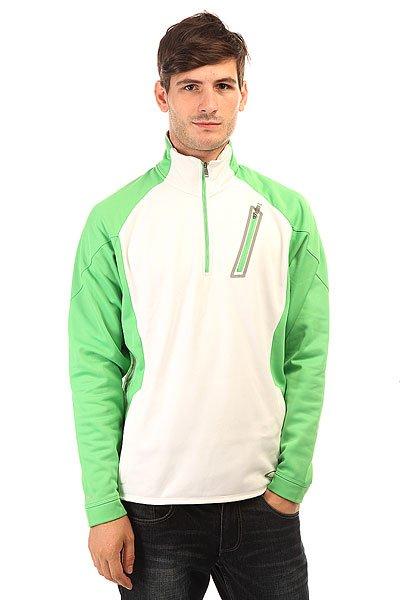 Толстовка кенгуру Oakley Effervescent Jacket Island An Green<br><br>Цвет: белый,зеленый<br>Тип: Толстовка кенгуру<br>Возраст: Взрослый<br>Пол: Мужской