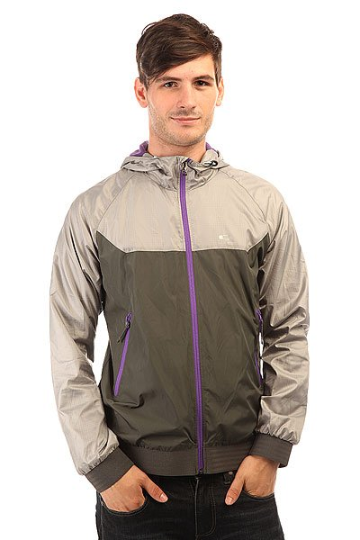 Ветровка Oakley Plunging Breaker Jacket Stone Gray