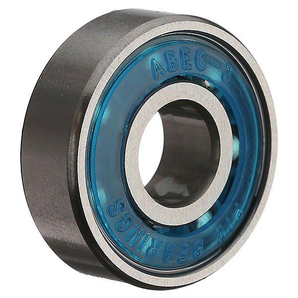 Подшипники для скейтборда Pig Berpg0100 BlueКомплект стальных подшипников для скейтборда.Характеристики:Материал - сталь. Полиуретановые пыльники. В комплекте 8 штук. Индивидуальная упаковка.<br><br>Цвет: синий<br>Тип: Подшипники