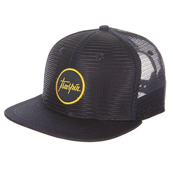 Бейсболка с сеткой TrueSpin Sailor Fully Mesh NavyЛегкая бейсболка из дышащей сетки от немецкого бренда TrueSpin.Технические характеристики: Верх из сетки.Прямой козырек.Классическая форма.Вентиляционные отверстия.Регулируемая застёжка.Однотонный дизайн с логотипом TrueSpin.<br><br>Цвет: синий<br>Тип: Бейсболка с сеткой<br>Возраст: Взрослый