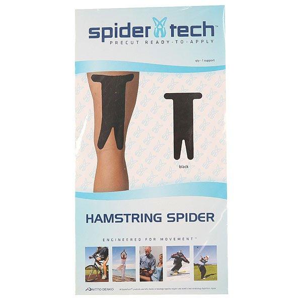 Лента кинезиологическая SpiderTech Hamstring Black<br><br>Цвет: черный<br>Тип: Лента кинезиологическая<br>Возраст: Взрослый