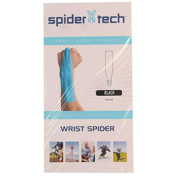Лента кинезиологическая SpiderTech Wirst Black<br><br>Цвет: черный<br>Тип: Лента кинезиологическая