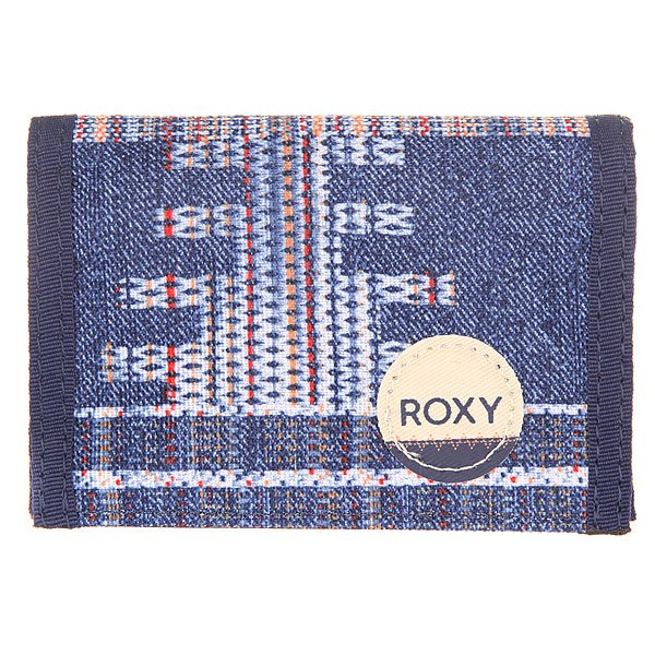 Кошелек женский Roxy Small Wllt Akiya Combo Blue