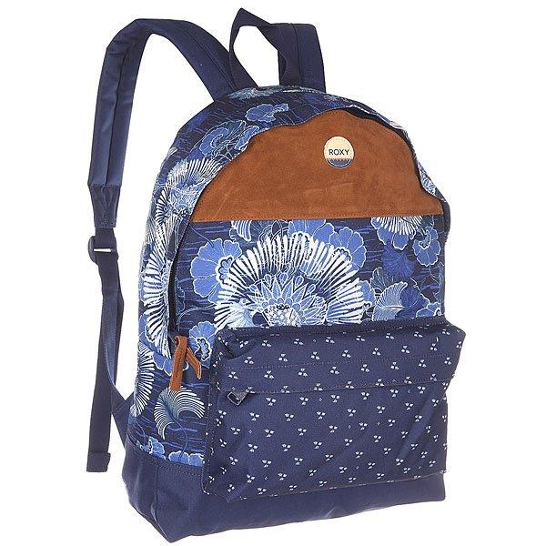 Рюкзак городской женский Roxy Sugar Bkpk Perpetual Flower Blue