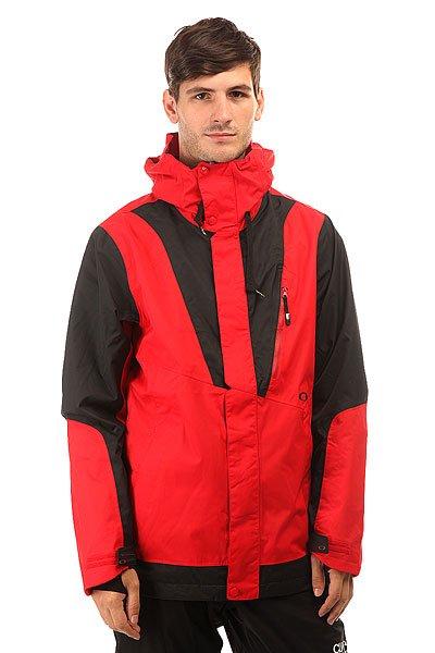 Куртка Oakley Banfield Jacket Red LineКатайтесь на любой местности и при любой погоде в куртке с 3-слойной защитой Hydrogauge™ 20. С производительной тканью и утеплителем Вы проведете свое время на склоне на одном дыхании и в этом нет ничего удивительного, потому как куртка от Oakley является выбором спортсмена Simon Dumont.Технические характеристики: Мембрана 3L Hydrogauge™ 20 специально разработана для катания на сноуборде в самых жестких условиях.Подкладка - Polar.Система утепления BioZone™ - специальная конструкция для управления влагой, теплом и комфортом.Полностью проклеенные швы.Фиксированный капюшон с регулировкой.Манжеты OOR™.Карманы для рук.Карман для телефона.Карман для маски.Скипасс карман.Вентиляционные отверстия на молнии.Материал MicroClear 2.0 ™ в кармане для протирания линз и масок HDO ™.Липучки VELCRO®.Эластичные манжеты с отверстием для большого пальца.Съемная снежная юбка с Lycra®.Подол с регулировкой.<br><br>Цвет: красный,черный<br>Тип: Куртка утепленная<br>Возраст: Взрослый<br>Пол: Мужской