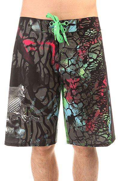 Шорты пляжные Oakley Frogyle 2.0 Island Green<br><br>Цвет: черный,мультиколор<br>Тип: Шорты пляжные<br>Возраст: Взрослый<br>Пол: Мужской