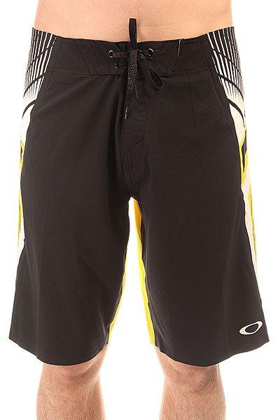Шорты пляжные Oakley Flash Boardshort Black/Yellow<br><br>Цвет: черный,желтый<br>Тип: Шорты пляжные<br>Возраст: Взрослый<br>Пол: Мужской