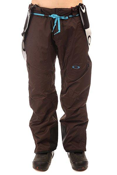 Штаны сноубордические Oakley Banfield Pant Dark SiennaСноубордические брюки Oakley BANFIELD серии Pro Rider.Характеристики:Брюки свободного покроя с мембранной тканью Hydrogauge ™ 20, дышащей и влагонепроницаемой. Съемные регулируемые подтяжки.Вентиляционные отверстия расположены с внутренней части бедер.Внутренние снегозащитные гетры крепятся к ботинкам. Все швы проклеены для большей прочности и влагозащиты. Датчик лавинной безопасности Recco. Серия Pro Riders.<br><br>Цвет: коричневый<br>Тип: Штаны сноубордические<br>Возраст: Взрослый<br>Пол: Мужской