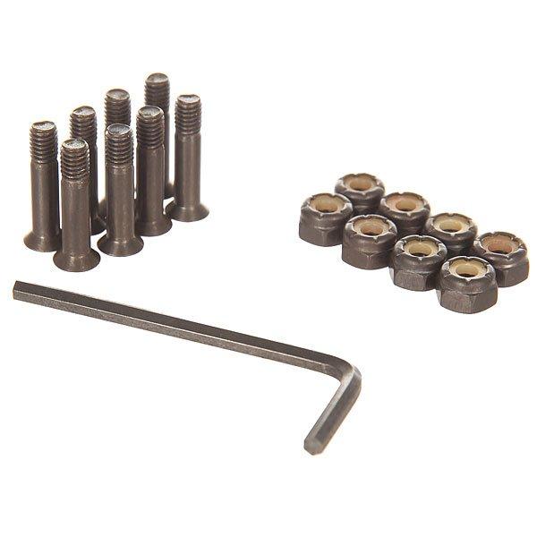 Винты для скейтборда Theeve Allen Black Allen 7/8 (8 x Pack)Размер: 7/8    Тип винтов: для шестигранника    Цена указана за 1 комплект из 8 болтов, 8 гаекКомплект металлических винтов от Theeve.Технические характеристики: Длина 7/8.В комплекте 8 гаек и болтов.Шестигранный ключ.<br><br>Цвет: черный<br>Тип: Винты для скейтборда