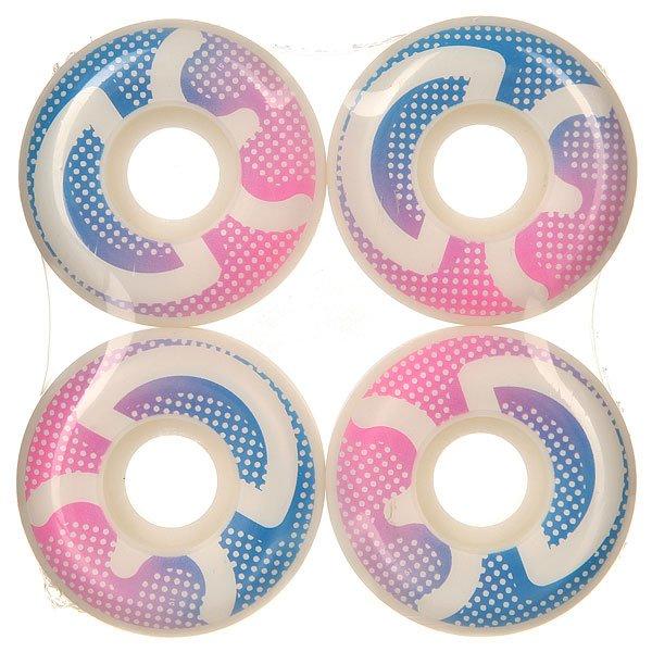 Колеса для скейтборда для скейтборда 3D Logo Dots 98A 51 mmДиаметр: 51 mm    Жесткость: 98A    Цена указана за комплект из 4-х колесКачественные колеса для скейтборда от 3D Skateboards.Технические характеристики: В комплекте 4 колеса.Жесткость 98А.Диаметр 51 мм.<br><br>Цвет: белый,розовый,синий<br>Тип: Колеса для скейтборда
