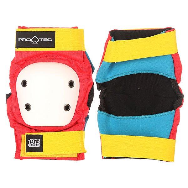 Защита на локти Pro-Tec Street Elbow Pads Retro защита на колени pro tec street knee black