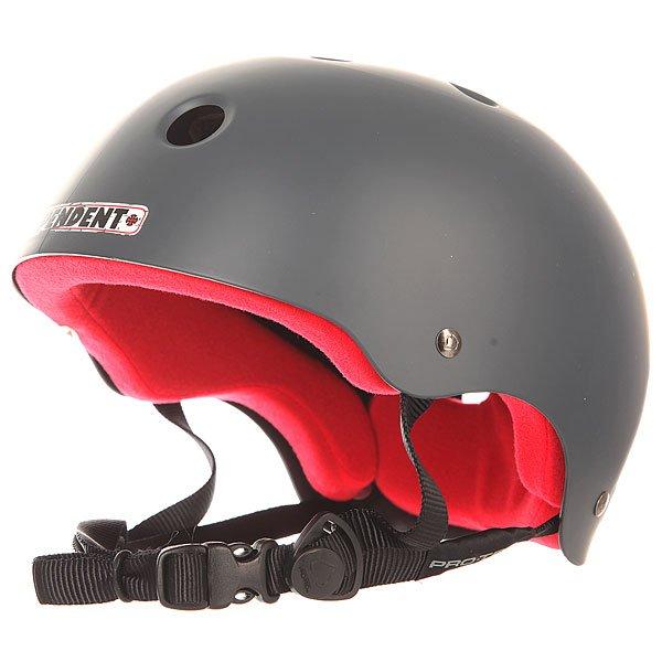 Шлем для скейтборда Pro-Tec Classic Skate IndependentPro-Tec внимательно прислушивается к потребностям скейтеров во всем мире, чтобы создать наилучшую защиту. Шлем Classic привлекает своим дизайном и функциональностью, а мягкий вкладыш из пены с вставкой из  EVA добавит удобства и легкости.Технические характеристики: 2-ступенчатый мягкий вкладыш.Пена EVA в верхней части шлема.Вентиляционные отверстия.Эргономичные ремни.<br><br>Цвет: серый<br>Тип: Шлем для скейтборда<br>Возраст: Взрослый<br>Пол: Мужской