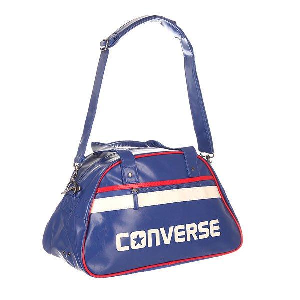 Сумка через плечо Converse Standard Bowler BlueСтильная сумка на удобном ремешке для самых разных вещей от Converse.Технические характеристики: Прочная текстильная подкладка.Основное отделение на молнии.Внутренний карман на молнии.Карман для телефона.Внешний карман на молнии.Съемный плечевой ремень с регулировкой дополнен мягкой накладкой для комфорта.Крупный логотип Converse.<br><br>Цвет: синий<br>Тип: Сумка через плечо<br>Возраст: Взрослый<br>Пол: Мужской