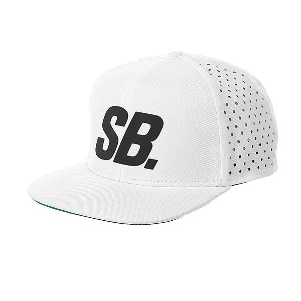 Бейсболка с сеткой Nike SB Black Reflect Pro Trucker White
