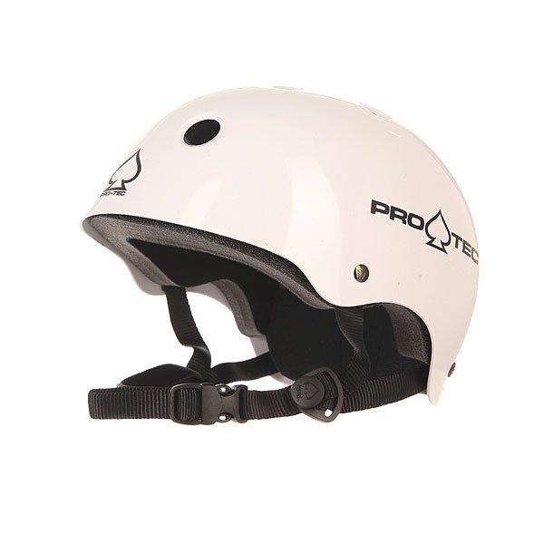 цена на Шлем для скейтборда Pro-Tec Classic Skate Gls Wht