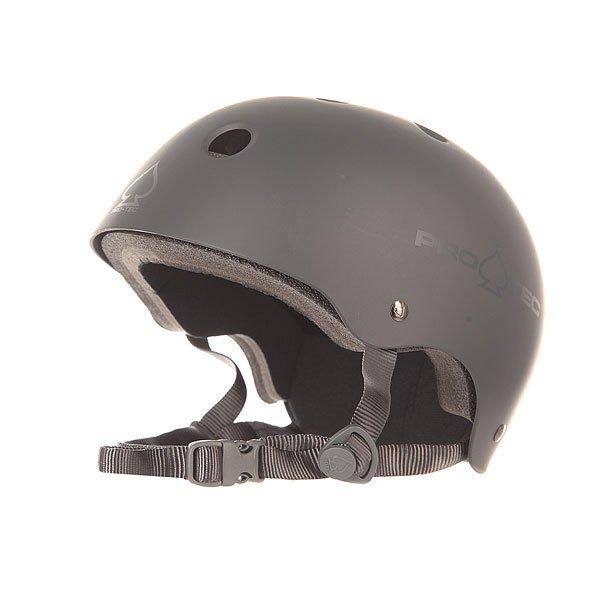 Шлем для скейтборда Pro-Tec Classic Skate Mat GrayPro-Tec внимательно прислушивается к потребностям скейтеров во всем мире, чтобы создать наилучшую защиту. Шлем Classic привлекает своим дизайном и функциональностью, а мягкий вкладыш из пены с вставкой из  EVA добавит удобства и легкости.Технические характеристики: 2-ступенчатый мягкий вкладыш.Пена EVA в верхней части шлема.Вентиляционные отверстия.Эргономичные ремни.<br><br>Цвет: серый<br>Тип: Шлем для скейтборда<br>Возраст: Взрослый<br>Пол: Мужской