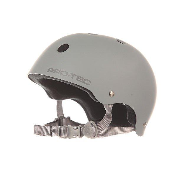 цена на Шлем для скейтборда Pro-Tec Classic Skate Rubber Grey
