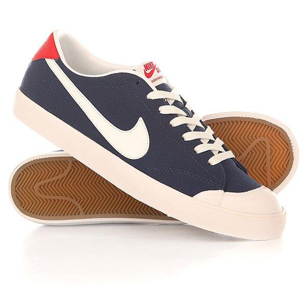 Кеды кроссовки низкие Nike Zoom All Court Ck Midnight Navy/Smmt White