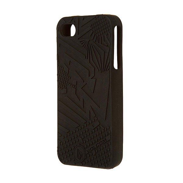 Чехол для iPhone 4 Volcom Coil Case Tinted Black