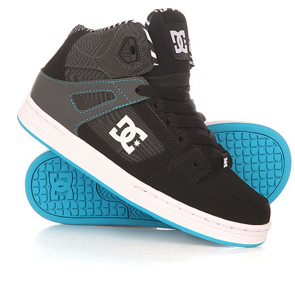 ���� ��������� ������� ������� DC Rebound Kb Yth Black/White/Blue