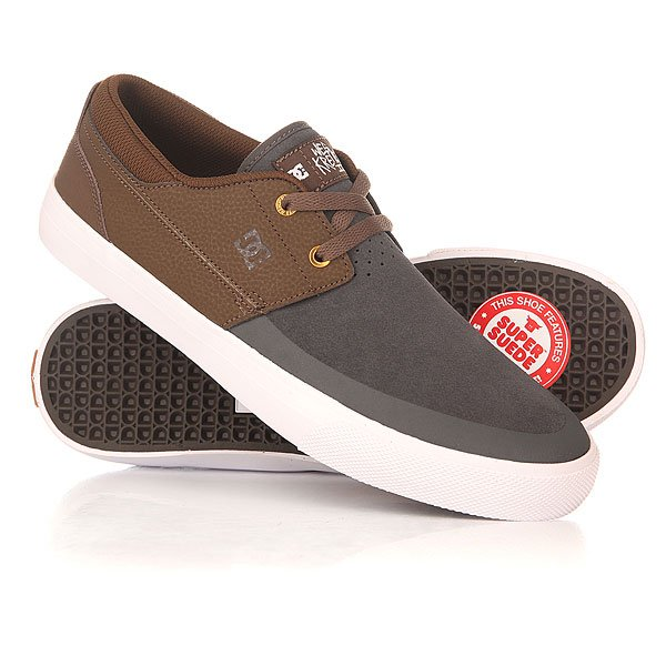 Кеды низкие DC Wes Kremer 2 Brown/Grey