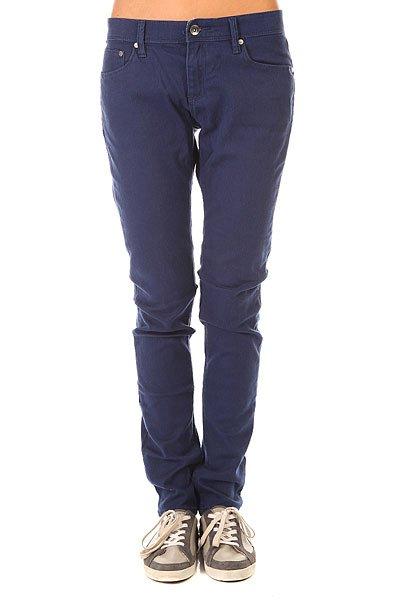 Штаны узкие женские Roxy Suntrippers J Pant Blue Print<br><br>Цвет: синий<br>Тип: Штаны узкие<br>Возраст: Взрослый<br>Пол: Женский