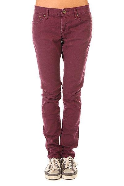 Штаны узкие женские Roxy Suntrippers J Pant Italian Plum<br><br>Цвет: фиолетовый<br>Тип: Штаны узкие<br>Возраст: Взрослый<br>Пол: Женский
