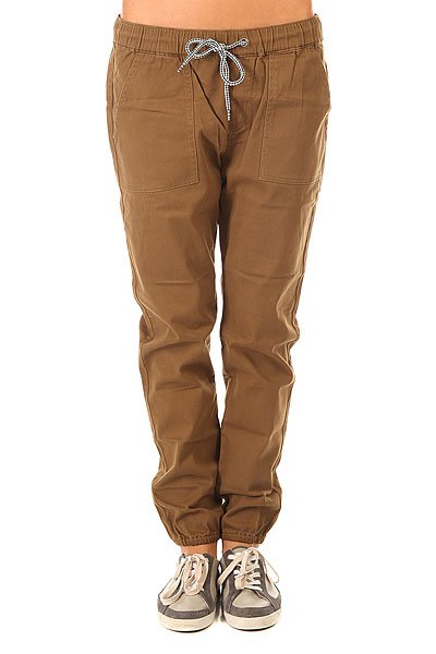 Штаны прямые женские Roxy Your J Pant Military Olive