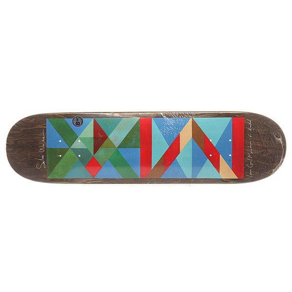 Дека для скейтборда для скейтборда Krooked Sebo Mountain Jr 32 x 8.06 (20.5 см)Ширина деки: 8.06 (20.5 см)    Длина деки: 32 (81.3 см)    Количество слоев: 7<br><br>Цвет: мультиколор<br>Тип: Дека для скейтборда