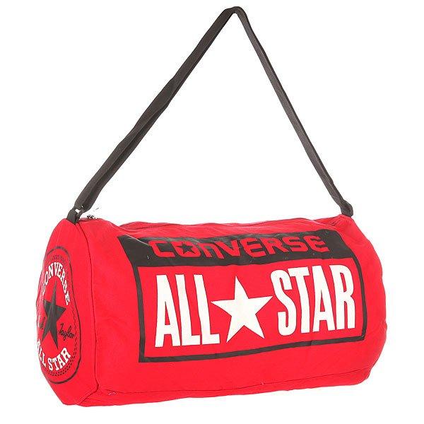 Сумка спортивная Converse Legacy Duffel RedПрактичная и вместительная сумка для спорта или путешествий.Технические характеристики: Одно основное отделение на молнии.Регулируемый плечевой ремень.Крупный принт с логотипом Converse.<br><br>Цвет: красный<br>Тип: Сумка спортивная<br>Возраст: Взрослый<br>Пол: Мужской