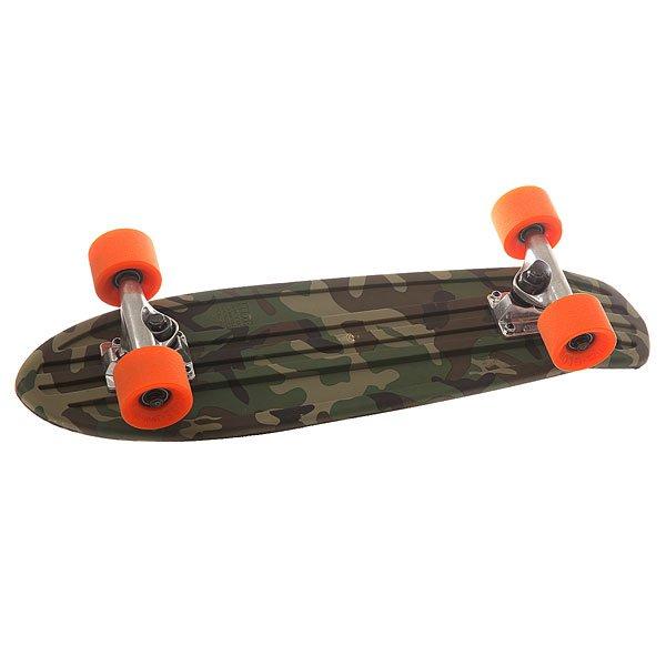 все цены на Скейт мини круизер Globe Bantam Graphic Camo/Orange 6.75 x 24 (60.9 см) онлайн