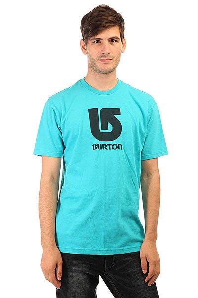 Футболка Burton Mns Lgo Vertical GulfstreamЯркая мужская футболка из натурального хлопка с крупным логотипом Burton на груди.Технические характеристики: Свободный крой.Короткие рукава.Классический круглый вырез на воротнике.Контрастный логотип Burton на груди и на спине.<br><br>Цвет: черный<br>Тип: Футболка<br>Возраст: Взрослый<br>Пол: Мужской