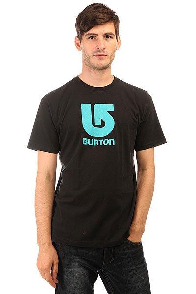Футболка Burton Mns Lgo Vertical True Black<br><br>Цвет: черный<br>Тип: Футболка<br>Возраст: Взрослый<br>Пол: Мужской