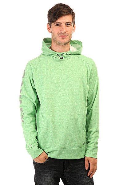 Толстовка кенгуру Oakley Depth Zone Island Green<br><br>Цвет: зеленый<br>Тип: Толстовка кенгуру<br>Возраст: Взрослый<br>Пол: Мужской