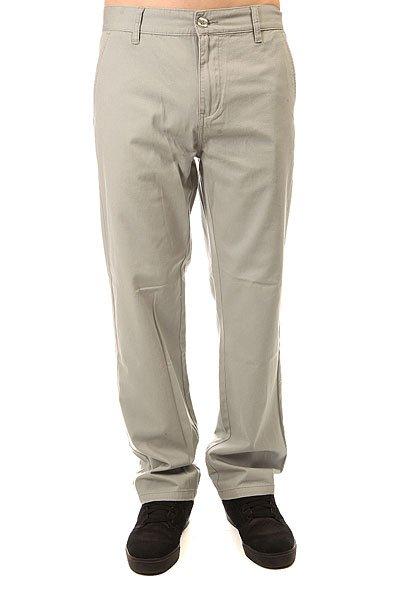 Штаны прямые Oakley Represent Pant Stone Gray