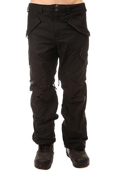 Штаны сноубордические Burton Filson X Hellbrk Pt Black Oil Cloth