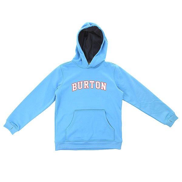 Толстовка сноубордическая детская Burton Boys Crown Bnd Po Lure Blue<br><br>Цвет: голубой<br>Тип: Толстовка сноубордическая<br>Возраст: Детский