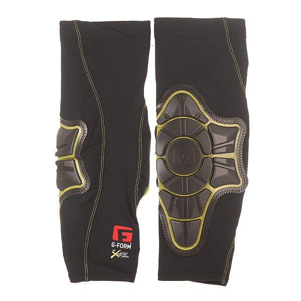 Защита на локти G-Form Elbow Pads Black/YellowЗащита на локти PRO-X является прекрасным дополнением к любому защитному комплекту. Легкие и низкопрофильные подушки никогда не помешают Вашей производительности, а компрессионный крой гарантирует, что защита всегда останется на своем месте.Технические характеристики: Эргономичный, компрессионный крой.Защитные подушки изготовлены по технологии RPT™, которая базируется на инновационном ударопоглащающем материале PORON® XRD™, что обеспечивает достойный уровень защиты без потери свойств, даже после многократных ударов. Технология RPT™ превращает энергию удара в энергию межмолекулярных связей, которая снижает ударную нагрузку на организм.<br><br>Цвет: черный<br>Тип: Защита на локти<br>Возраст: Взрослый<br>Пол: Мужской