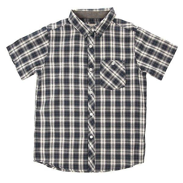 Рубашка в клетку детская Billabong All Day Check Indigo<br><br>Цвет: синий<br>Тип: Рубашка в клетку<br>Возраст: Детский