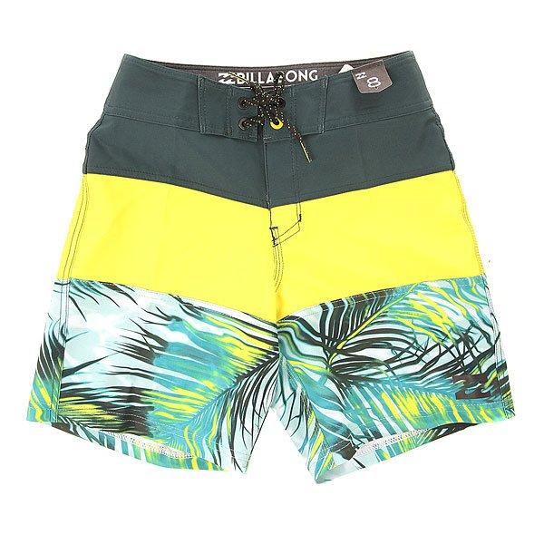 Шорты пляжные детские Billabong Trib. X Fronds 16.5 Haze<br><br>Цвет: черный,серый,голубой<br>Тип: Шорты пляжные<br>Возраст: Детский