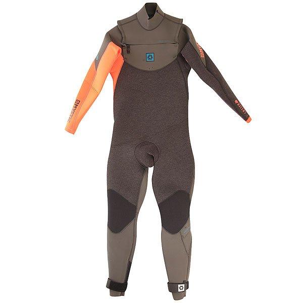 Гидрокостюм (Комбинезон) Mystic Crossfire 5/3 D/L Fullsuit Frontzip CoralГидрокостюм, специально разработанный для того, кто хочет привлечь как можно больше внимания! Наиболее гибкий гидрокостюм, который защитит тебя и твою доску, и подарит много свободы для выполнения трюков!Технические характеристики: Проклеенные лентой швы в критических местах.Швы GBS - прошитые и проклеенные.Тонкая молния Mystic.Неопрен Glideskin в области шеи.Легкое надевание.Aquabarrier на застежке предотвращает попадание воды в костюм.Эластичные наколенники 4-Way.Застежки на липучке.Нескользящие манжеты.Защита голени.Карман для ключей.Aquaflush - перфорированный неопрен, который позволяет выйти воде из костюма.Неопрен M-Flex 2.0 - очень гибкий неопрен, еще лучше растягивается и сгибается.Подкладка Polar lining на груди и на спине отражает тепло тела и гарантирует, что вы будете оставаться в тепле дольше.Толщина 5/3 мм.<br><br>Цвет: черный,оранжевый<br>Тип: Гидрокостюм (Комбинезон)<br>Возраст: Взрослый<br>Пол: Мужской