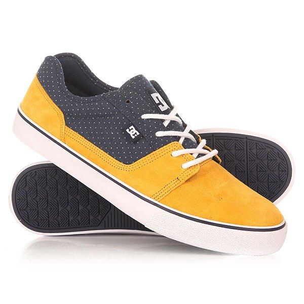 Кеды кроссовки низкие DC Tonik Se CamelНизкие мужские кеды Tonik TX от DC Shoes.Характеристики:Легкий и дышащий верх.Вулканизированная конструкция для более чуткого контроля доски.Износостойкая каучуковая подошва. Цельнокроеный носок. Круглая шнуровка.Фирменный рисунок протектора подошвы DC Pill Pattern.<br><br>Цвет: желтый,синий<br>Тип: Кеды низкие<br>Возраст: Взрослый<br>Пол: Мужской