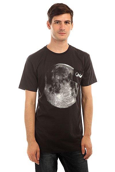 Футболка GNU Forest Moon Tee Black<br><br>Цвет: черный<br>Тип: Футболка<br>Возраст: Взрослый<br>Пол: Мужской