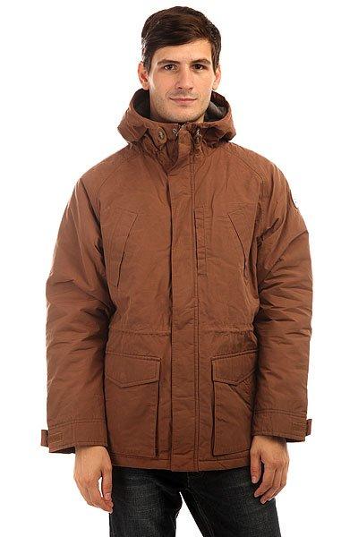 Куртка зимняя Quiksilver Sealakes Jckt BearОсень уже не за горами, поэтому стоит подумать о том, чем Вы будете себя утеплять, когда погода будет менее комфортной. И Quiksilver Sealakes - отличный вариант! Теплый и комфортный фланелевый подклад, стеганый дизайн, обилие карманов - эта куртка станет Вашим вторым домом, который будет держать Вас в тепле и уюте даже тогда, когда на улице все совсем грустно. Характеристики:Эффект воскового покрытия.Матовая фланелевая подкладка. Стеганый дизайн. Рукава реглан. 3 кармана на груди. 2 накладных кармана с клапанами. Капюшон со шнурком-утяжкой.Кожаная нашивка с логотипом на рукаве. Водоотталкивающая пропитка.<br><br>Цвет: коричневый<br>Тип: Куртка зимняя<br>Возраст: Взрослый<br>Пол: Мужской